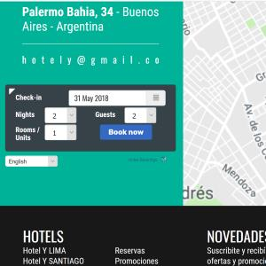 Hotel reservation engine