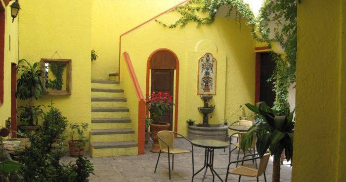 Make cheap reservations at a hotel like Hotel Casa del Callejon